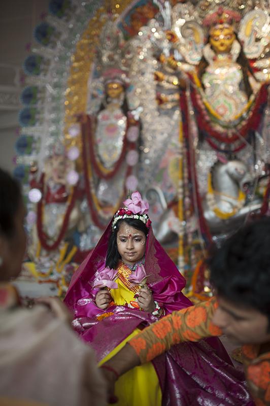 Durga Puja at GK 2